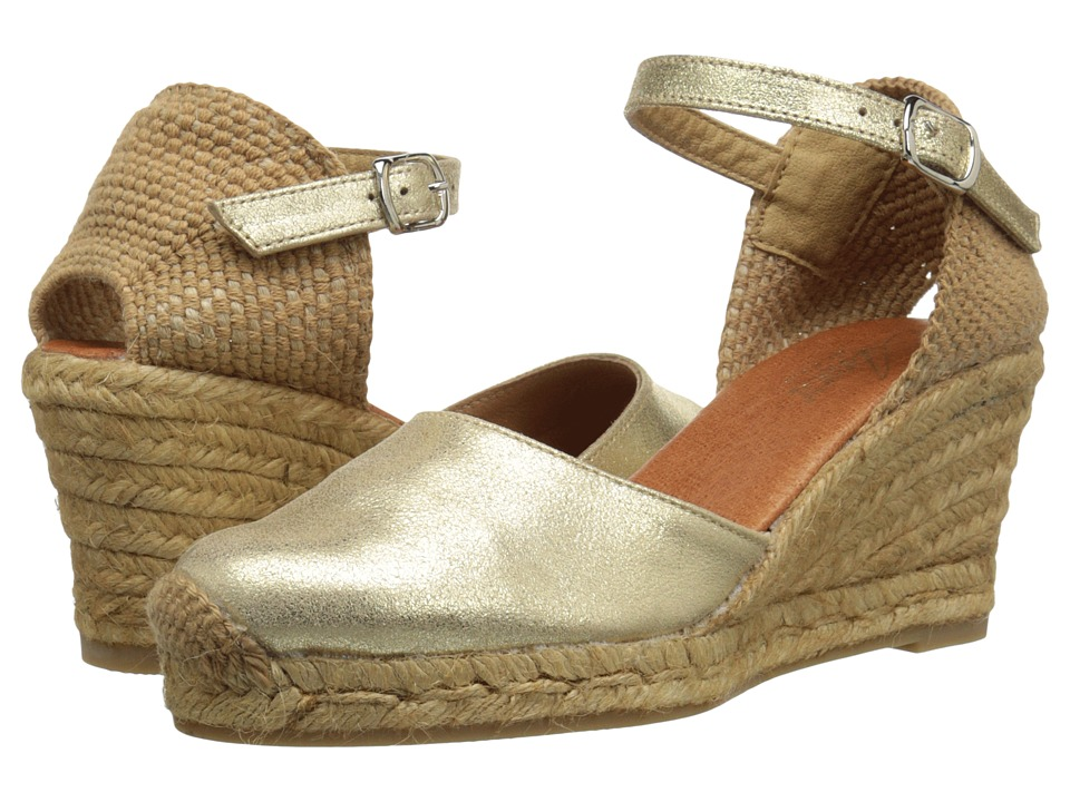 Spring Step Antoine Gold Womens Shoes