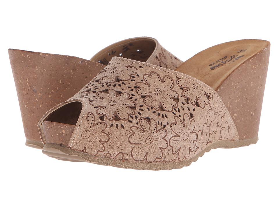 Spring Step Bojana Beige Womens Shoes