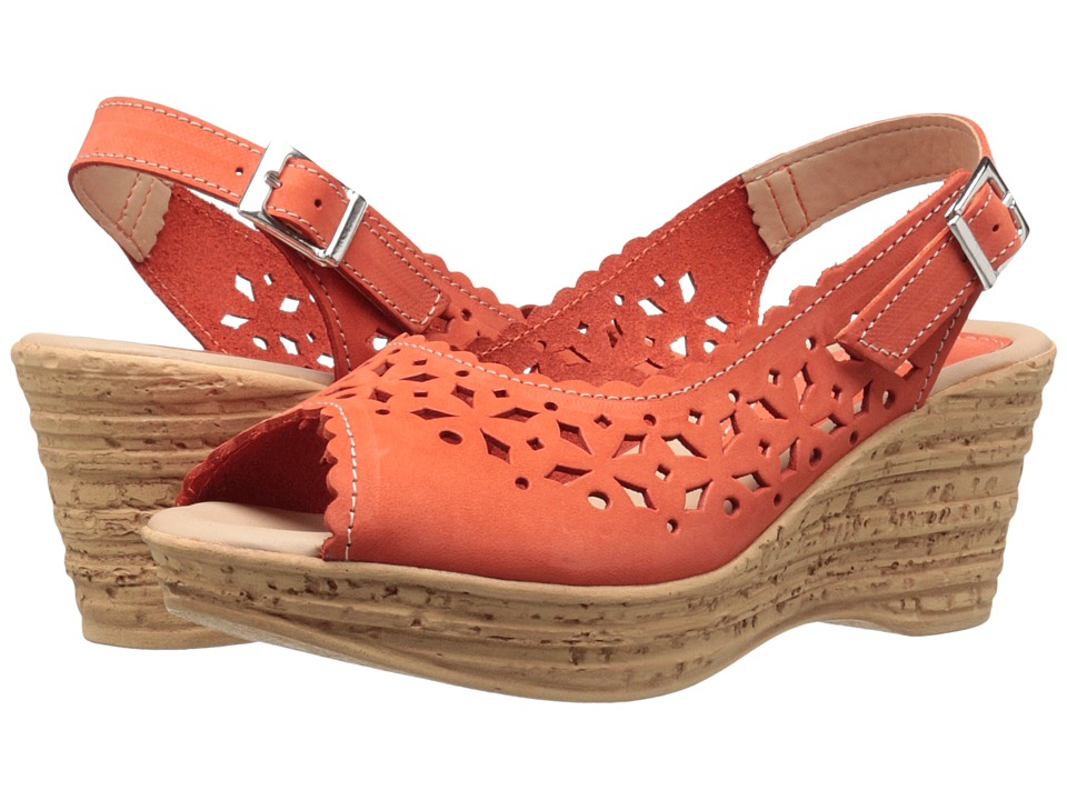 Spring Step Chaya Orange Womens Shoes