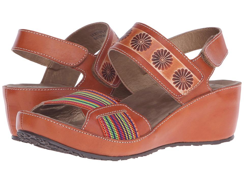 Spring Step Bazooka Camel Womens Shoes