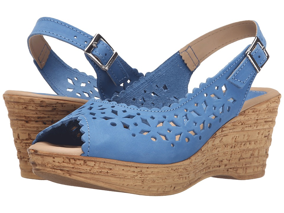 Spring Step Chaya Cobalt Blue Womens Shoes