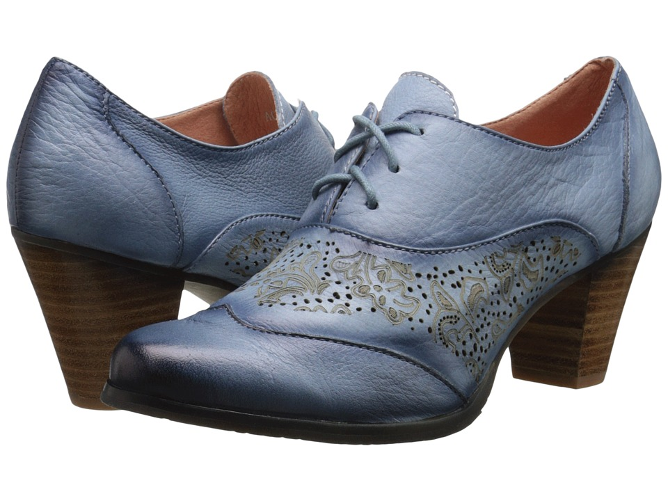 Spring Step Agila Sky Blue Womens Shoes