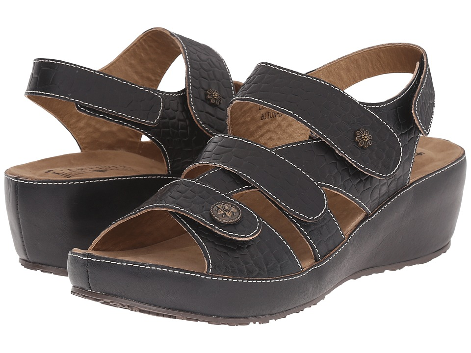 Spring Step Biton Black Womens Shoes