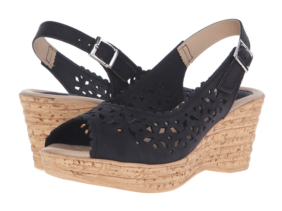 Spring Step Chaya Black Womens Shoes