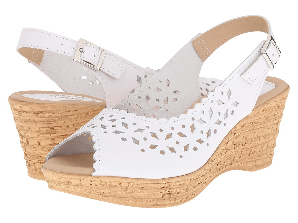Spring Step Chaya White Womens Shoes