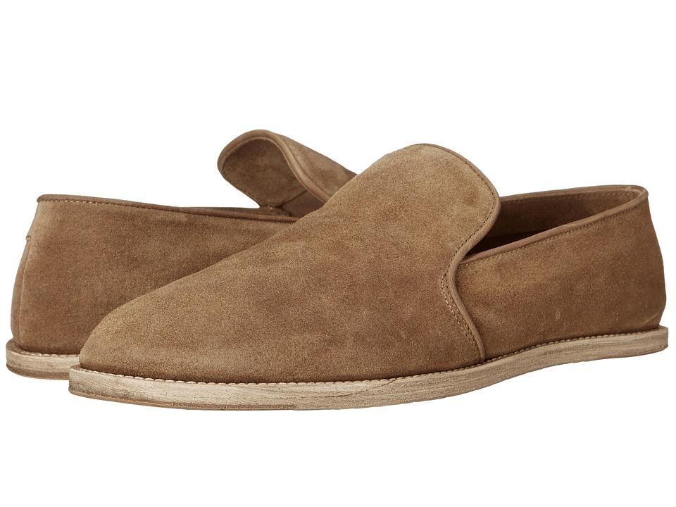 Billy Reid Dayton Loafer Olive Mens Slip on Shoes