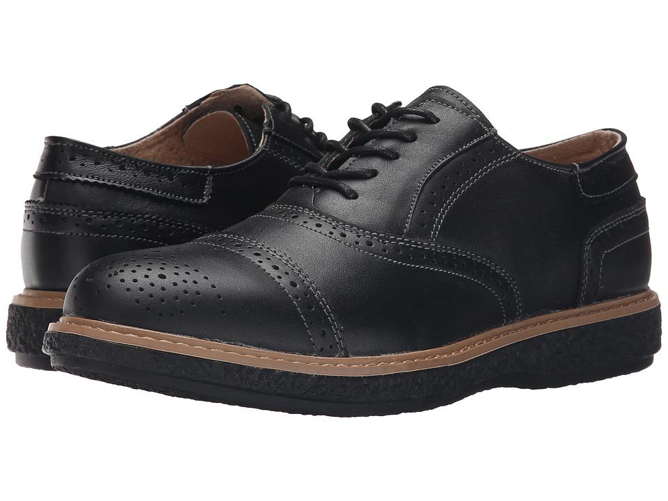 Spring Step Bryan Black Mens Shoes
