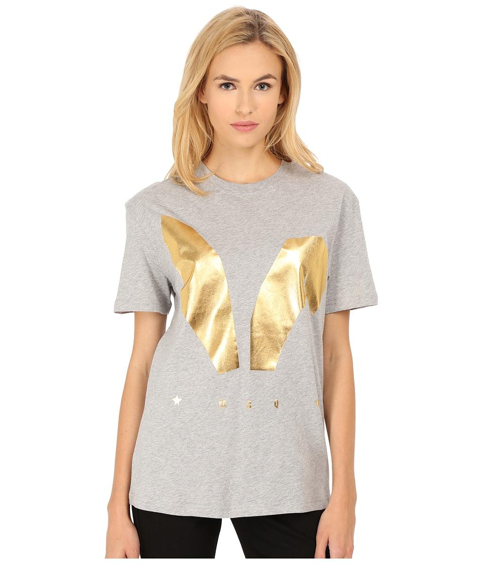 McQ - Classic T-Shirt (Grey Melange) Women