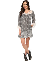 Rock and Roll Cowgirl - Long Sleeve Dress D4-5780