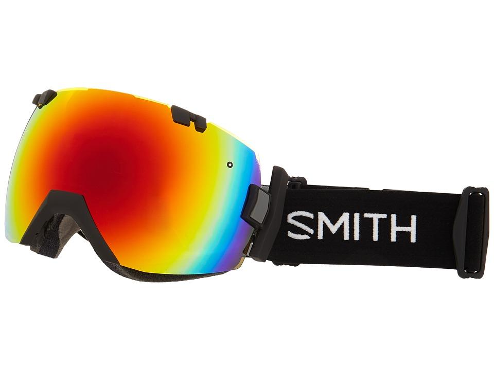 Smith Optics IOX Turbo Black/Red Sol X Mirror Goggles