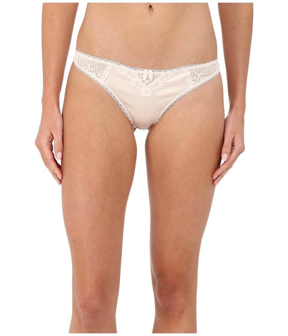 Stella McCartney Kate Kissing Thong Brief Floral White Womens Underwear