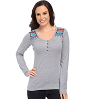 Rock and Roll Cowgirl - Long Sleeve Henley 48T5008