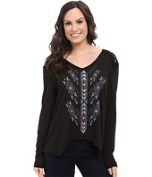 Rock and Roll Cowgirl - Long Sleeve Top 48T5018