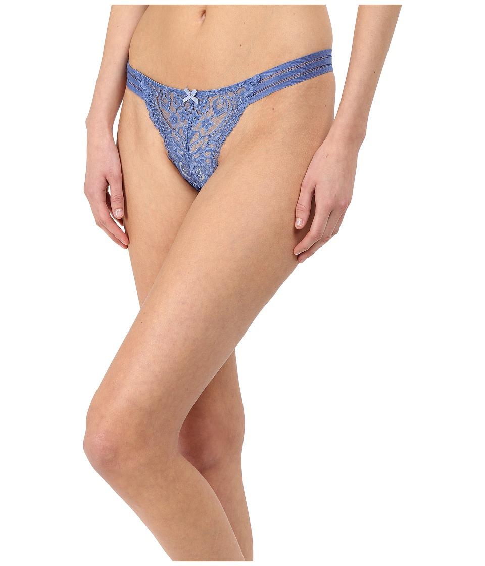 Stella McCartney Isabel Floating Thong Perfect Blue Womens Underwear
