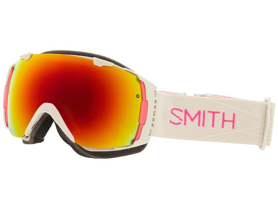 Smith Optics I/O Bright Sands/Red Sol X Mirror Snow Goggles