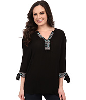 Rock and Roll Cowgirl - 3/4 Sleeve Top B4-5376