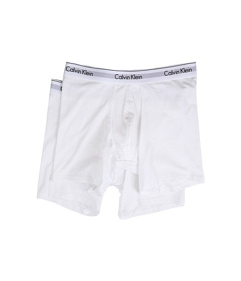 Calvin Klein Underwear Modern Cotton Stretch Boxer Brief - White