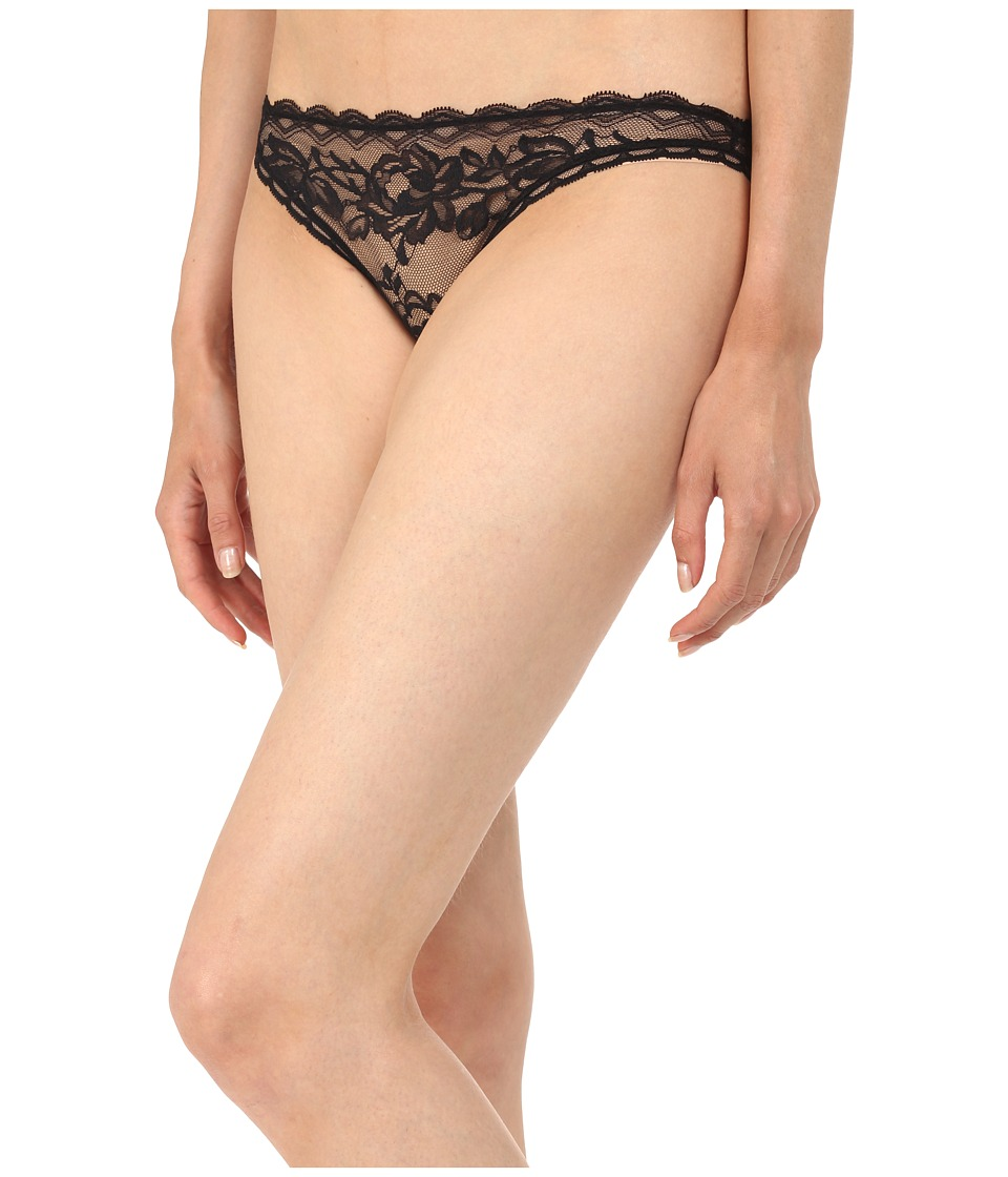 Stella McCartney Suzie Doting Bikini Brief Black Womens Underwear