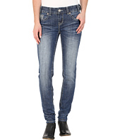 Rock and Roll Cowgirl - Low Rise Skinny in Medium Vintage W0S5611