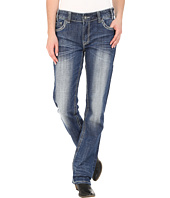 Rock and Roll Cowgirl - Boyfriend Jeans in Light Vintage W2-5629