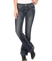 Rock and Roll Cowgirl - Rival Low Rise in Dark Vintage W6-5616