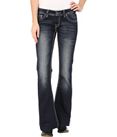Rock and Roll Cowgirl - Trouser Low Rise in Dark Vintage W8-5640