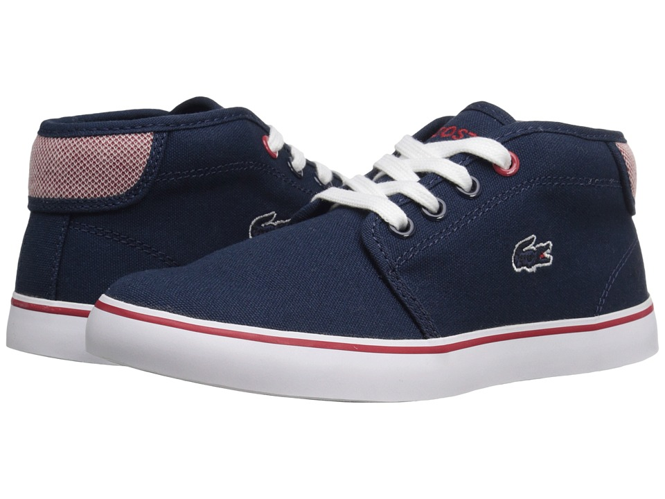Lacoste Kids Ampthill 216 1 SP16 Little Kid Navy Kids Shoes