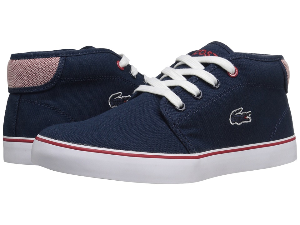Lacoste Kids Ampthill 216 1 SP16 Little Kid/Big Kid Navy Kids Shoes