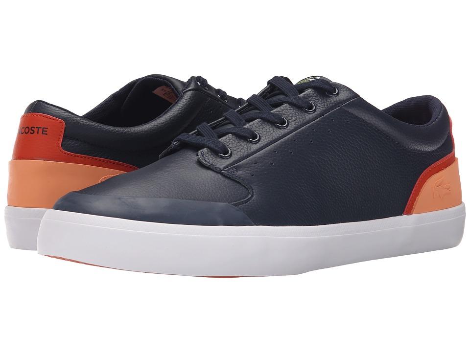 Lacoste 4HND.15 116 1 Navy/Orange Mens Shoes
