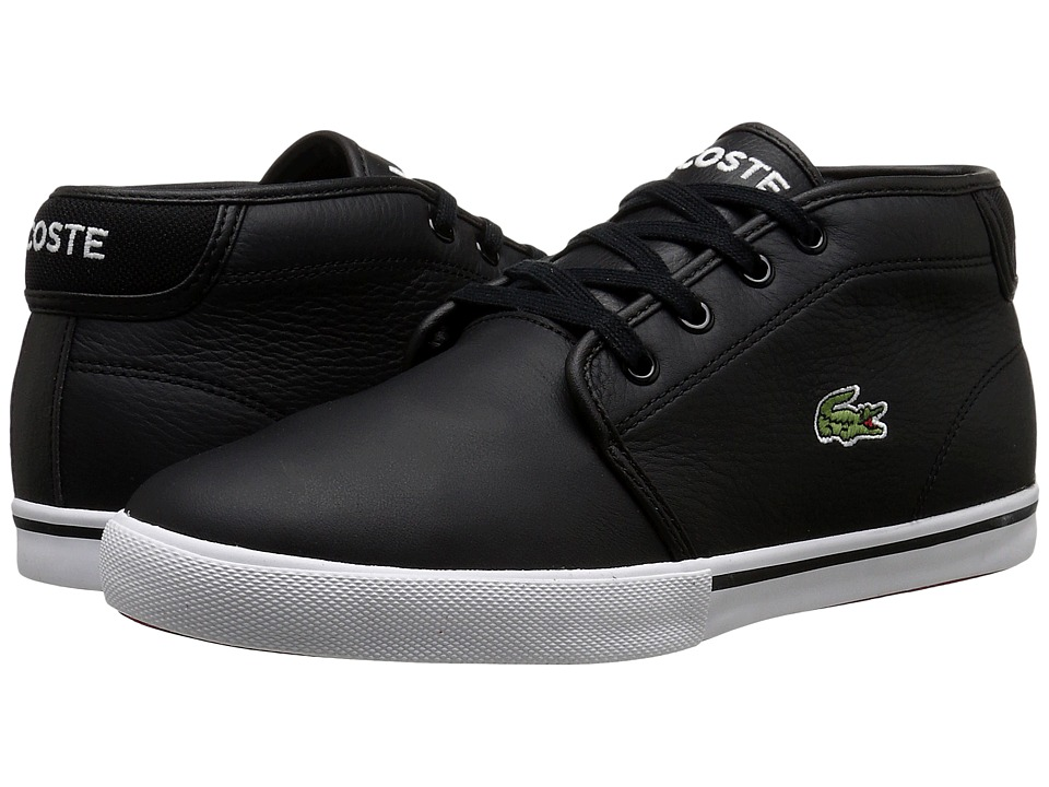 Lacoste - AMPTHILL LCR3 (Black/Black) Mens Shoes