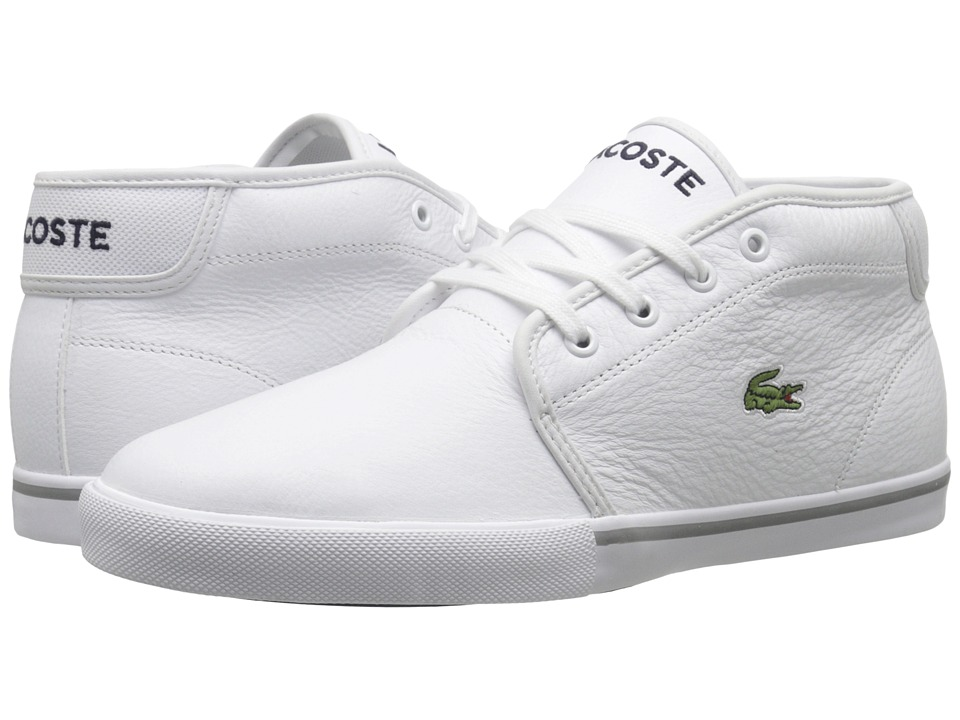Lacoste - AMPTHILL LCR3 (White/White) Mens Shoes
