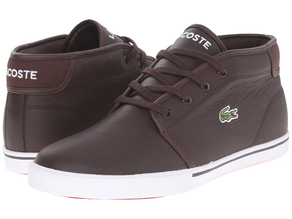 Lacoste AMPTHILL LCR3 (Dark Brown/Dark Brown) Men