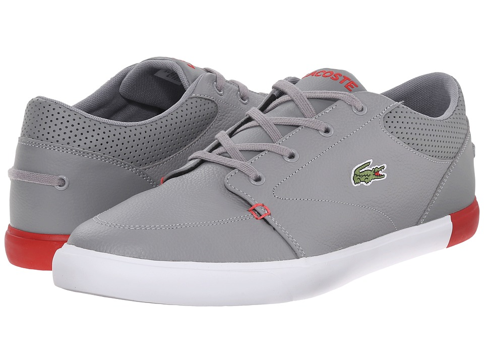 Lacoste Bayliss 116 1 Grey/Red Mens Shoes