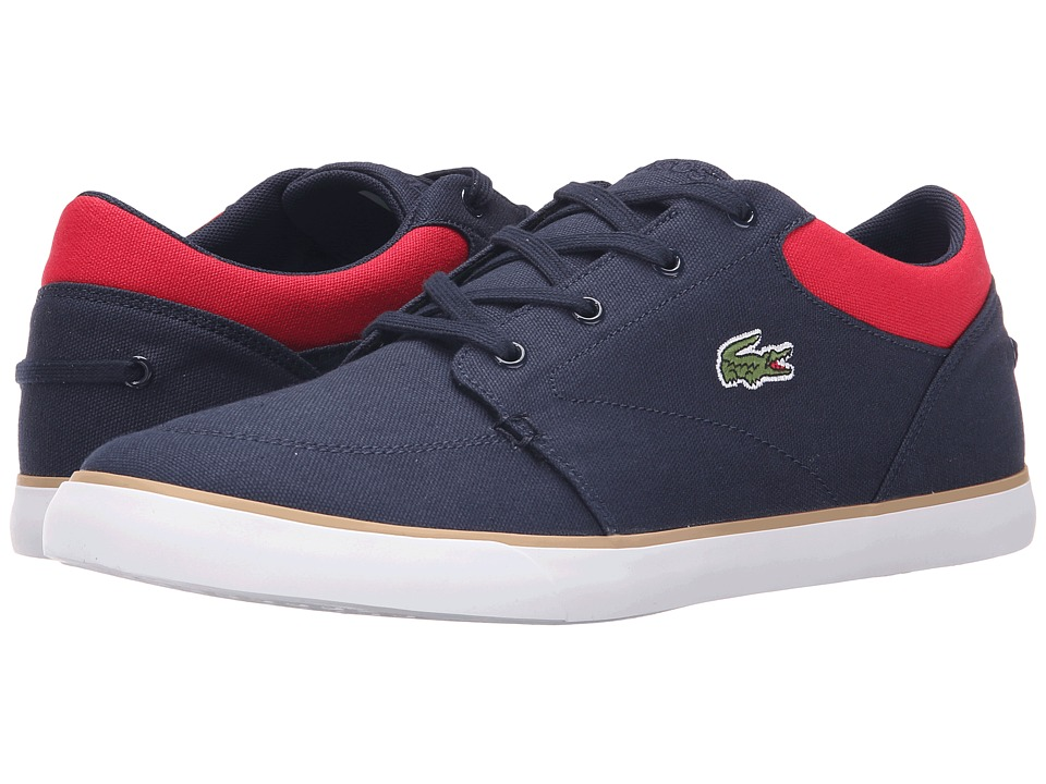 Lacoste Bayliss 116 2 Navy/Red Mens Shoes