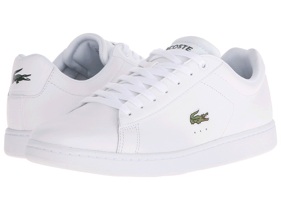 Lacoste Carnaby Evo LCR White Mens Shoes