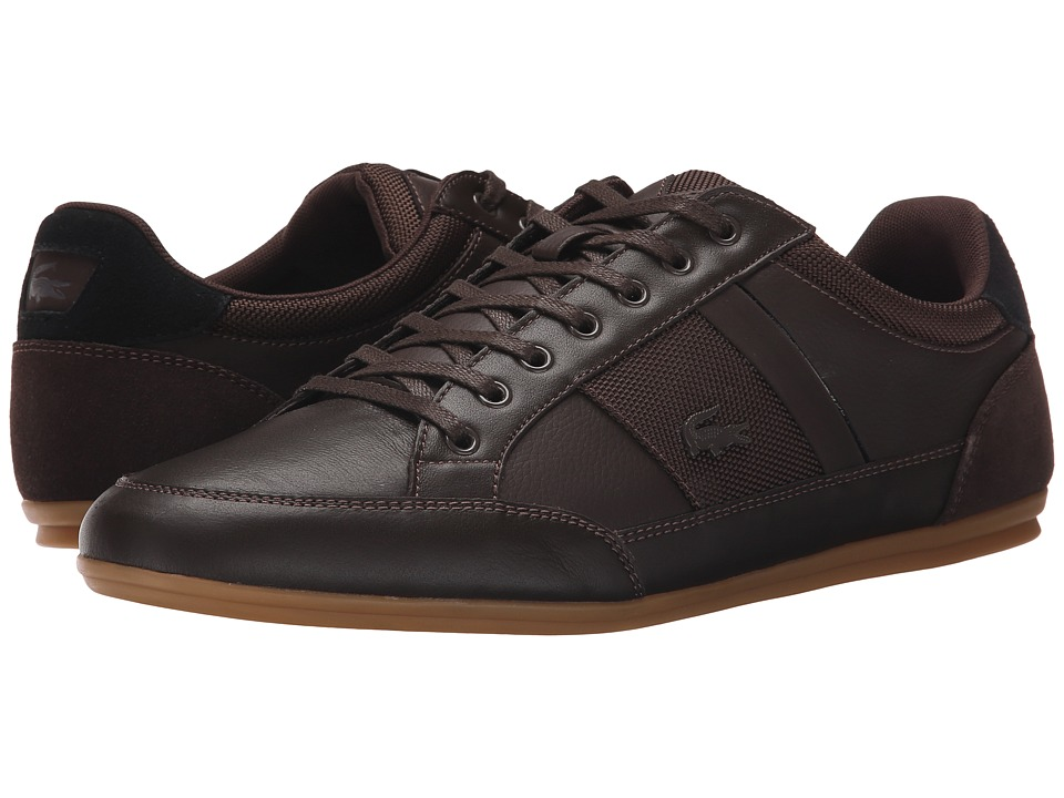 Lacoste - Chaymon 116 1 (Dark Brown/Black) Mens Lace up casual Shoes