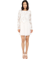 See by Chloe - Floral Lace and Cotton Dress