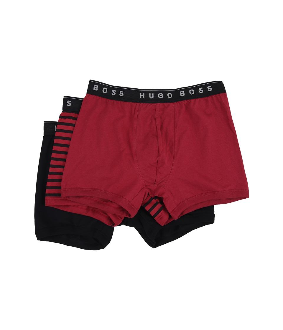 BOSS Hugo Boss 3 Pack 100 Cotton Stripe US Special Misc 2 Mens Underwear