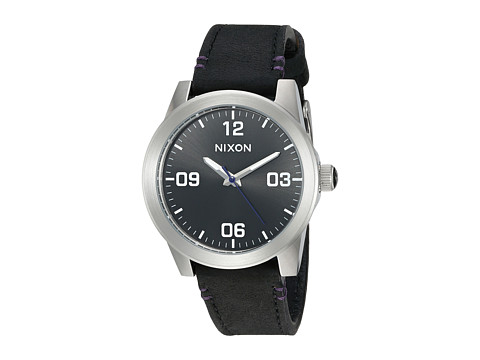 Nixon The G.I. Leather - Black