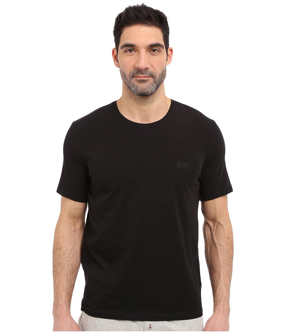 BOSS Hugo Boss - Short Sleeve Crew Basic Boss Tee (Black) Men