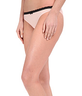 Betsey Johnson - Bridal Lace-Up Sheer Marquisette Bikini J0027