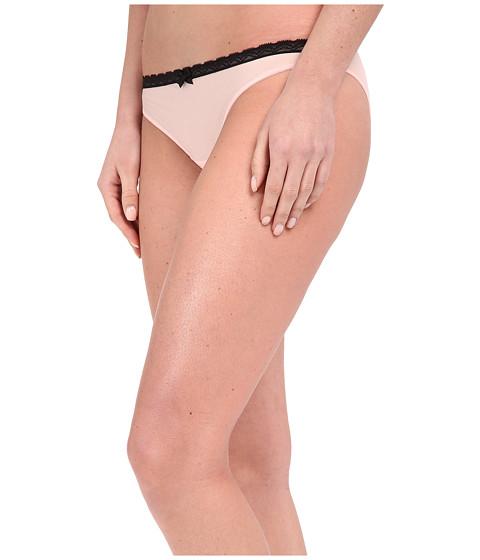 Betsey Johnson Bridal Lace-Up Sheer Marquisette Bikini J0027