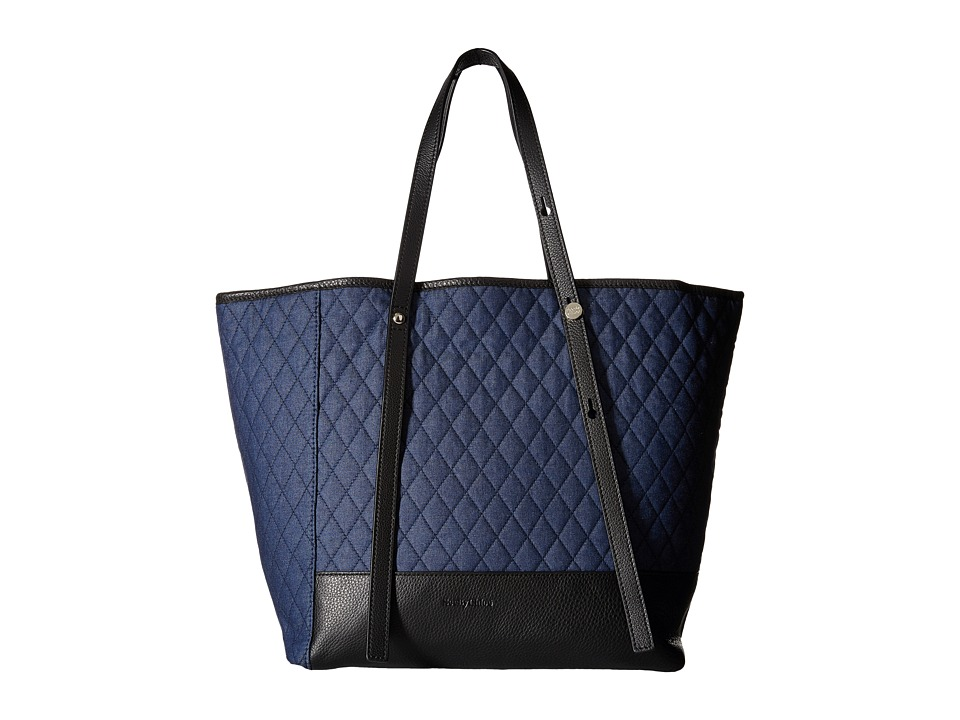 See by Chloe Quilted Chambra Tote Denim Tote Handbags