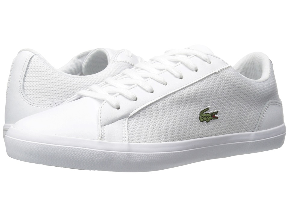 Lacoste - Lerond 116 1 (White) Men