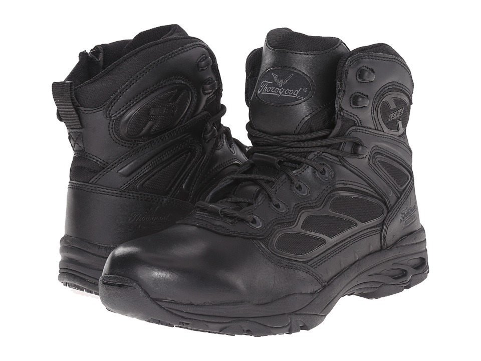 Thorogood 6 ASR Black Mens Work Boots