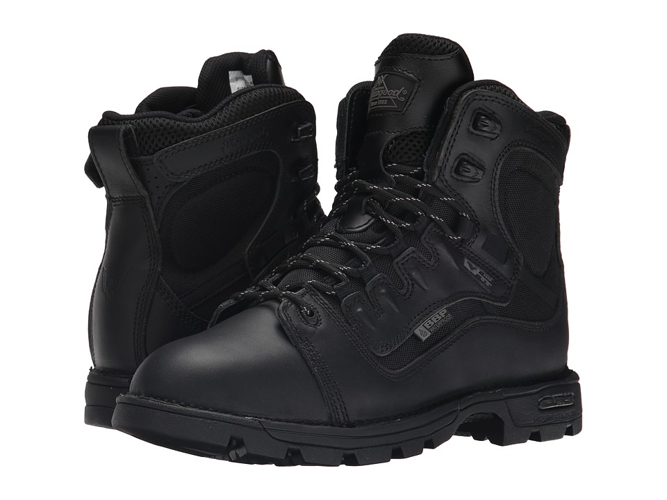Thorogood - 6 Lace To Toe (Black) Mens Work Boots