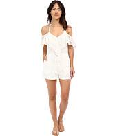6 Shore Road by Pooja - Overlay Picnic Romper Cover-Up