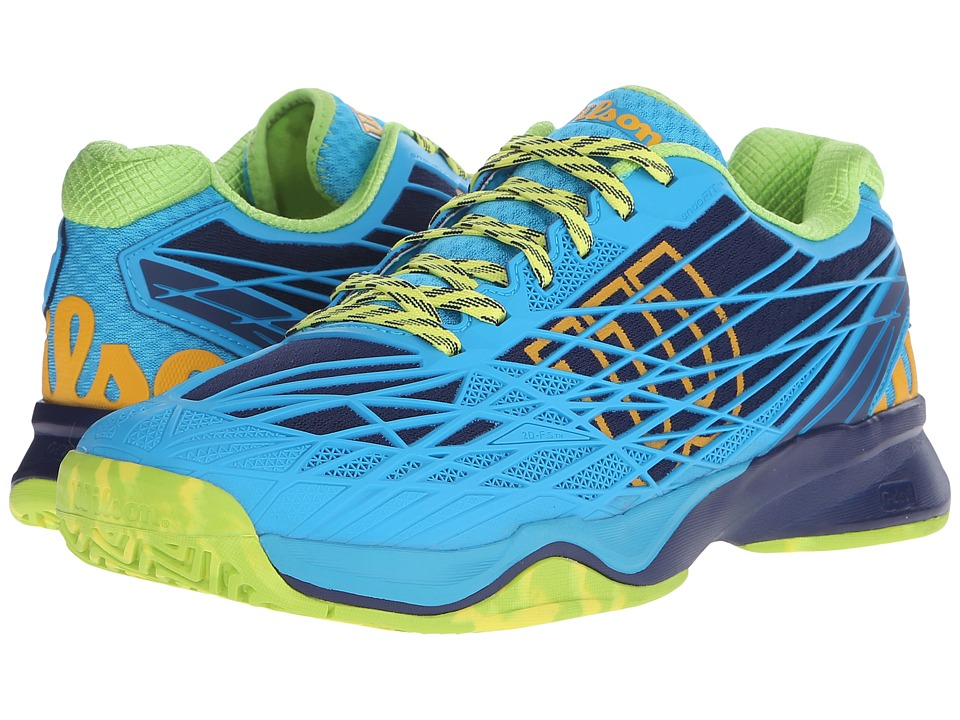 Wilson Kaos Navy/Scuba Blue Mens Tennis Shoes