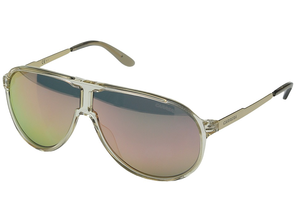 Carrera - New Champion/S (Champagne Gold/Gray Rose Gold) Fashion Sunglasses