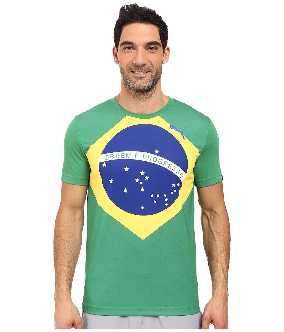 PUMA - Fan Wow Tee (Amazon - Brazil) Men